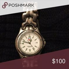 Men's watch Sterling silver, water resistant TAG HEUER watch Tag Heuer Accessories Watches