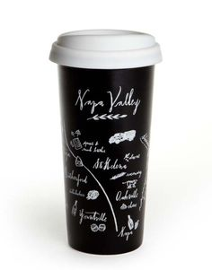 Napa Valley Map Double Wall Ceramic Tumbler – EssentialsGo