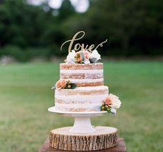 Floral Wedding Cakes, Fall Wedding Cakes, Wedding Cake Rustic, Wedding Cake Toppers, Wedding Gold, Platinum Wedding, Wedding Yellow, Rustic Cake, Vintage Wedding Cakes