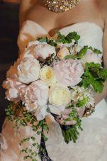 Buchet de mireasa - Bujori / Bridal bouquet with peonies