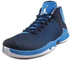 6f963990b38f Jordan Jordan Super Fly 4.0 Po Men Round Toe Synthetic Blue Basketball Shoe