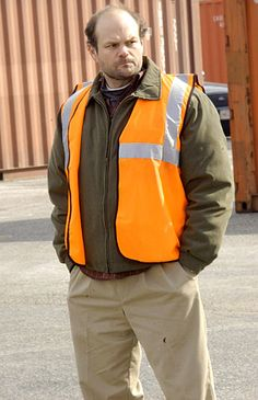 Chris Bauer as Fran Sobotka on Season 2 of The Wire.