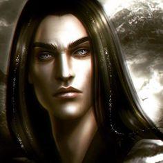Character Portraits, Character Art, Anubis, Hobbit, Elfen Fantasy, Morgoth, Fantasy Male, Fantasy Rpg, Dark Elf