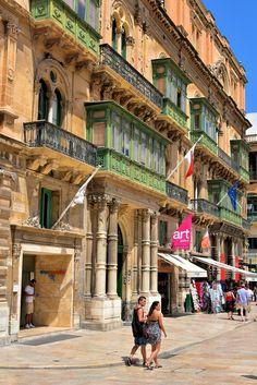 Republic Street in Valletta, Malta - Encircle Photos