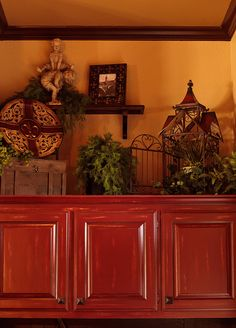 Custom Cabinet finishes and a few accessories spruce up this once overlooked space by Lighting Gourmet, via Flickr