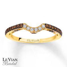 levian chocolate diamonds | Kay - LeVian Chocolate Diamonds 1/3 ct tw Wedding Band 14K Gold