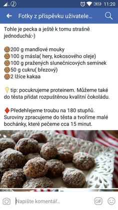 Low Carb Diet, Christmas Cookies, Paleo, Sweets, Cooking, Breakfast, Healthy, Recipes, Food