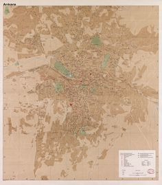 Shows urban area, urban open space, and undeveloped area. Available also through the Library of Congress Web site as a raster image. Antique World Map, Old World Maps, Old Maps, Vintage World Maps, Map Wall Art, Map Art, Poland Map, Historical Maps, City Maps