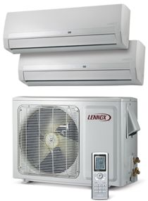 MS8Z Mini-Split Heat Pump.  Does heating and air conditioning