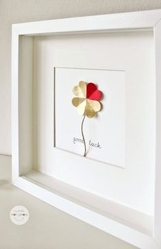 Picture good luck four-leaf clover Paper by atelierMonamour