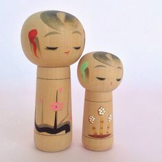 Many new cute kokeshi dolls on the shop!