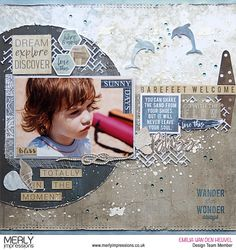 Hello+Kaisercraft+fans!+Emmy+here+today+with+my my+last project+for+this+month+featuring+Kaisercraft's Beach+Shack collection+and Mini+Stencil (available+at+Merly+Impressions'+online+store).To+assemble+my+my+background+I+used+a+lot+of+different+pattern+papers.+For+the+base+I+used+Kaisercard+Coconut+Weave+Cardstock,+which+edges+I+distressed+using Distress+Ink+Pad++…click+to+read+more