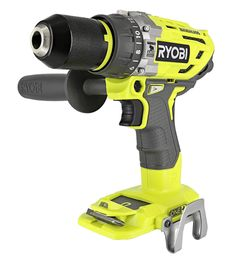 Ryobi One+ Lithium Ion 750 Inch Pound Brushless Hammer Drill Driver w/ 3 Drilling Modes, 24 Position Clutch, and Ergonomic Handle - Product Tools and Hardware Cordless Drill Reviews, Cordless Hammer Drill, Driver Tool, Drill Driver, Power Tool Kits, Cordless Power Tools, Tool Sheds, Cool Tools