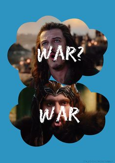 "Maybe ""war"" will be our ""okay"" that will be our ""always."""