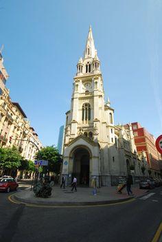 Basque Country, Bizkaia, Bilbao, San José Church