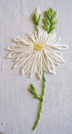 silk ribbon embroidery designs and techniques Brazilian Embroidery Stitches, Crewel Embroidery Kits, Embroidery Supplies, Hand Embroidery Patterns, Cross Stitch Embroidery, Embroidery Services, Modern Embroidery, Ribbon Embroidery Tutorial, Silk Ribbon Embroidery