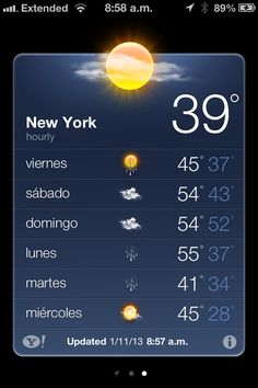Que frío !!!
