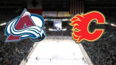 Avalanche vs. Flames tonight at 7 PM on Altitude!