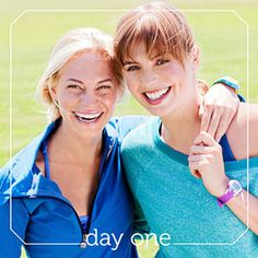 Happy young faces.... 28-Day Healthy Challenge