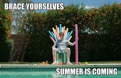 Summer is coming Vacation Meme, Game Of Thrones, Friday Meme, Summer Humor, Morning Memes, Image Blog, First Day Of Summer, Funny Memes, Hilarious