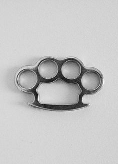 brass knuckles...these just looked like they belonged on this board!