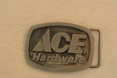 ACE Hardware Store Tools Spec-Cast Vintage Belt Buckle