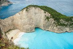 exotic-places: Navagio beach in Zakynthos Greece European Vacation, Italy Vacation, Vacation Destinations, Vacation Spots, Vacation Travel, European Travel, Travel Sights, Travel Usa, Places To Travel