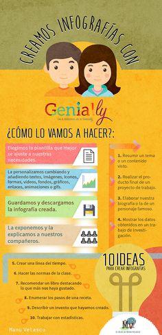 Creamos infografías con Genial.ly. http://www.elblogdemanuvelasco.com/2016/12/creamos-infografias-con-genially.html