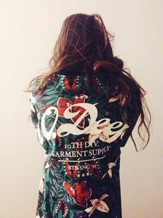 10 Deep. Brand. Dope Print. Fashion. Jacket. Woman. Fashion. Street. Pattern. Nature. Flowers. Modern. Clothing. Typography. Big. Love it. Back. Fresh.