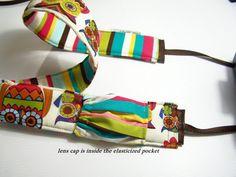 Digital slr camera strap padded jeweled by SnugglensCameraBags, $42.99