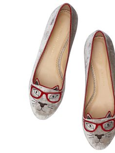 'The Clever Kitty' Picture courtesy of Charlotte Olympia