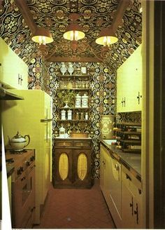 vintage kitchen - from The Doubleday Book of Interior Decorating (1965)