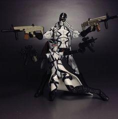 Cluster (Marvel Universe) Custom Action Figure