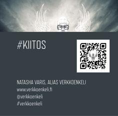 Mitä, häh, some?! -slide (2/2), päätöskuva. #verkkoenkeli. © Natasha Varis, 2014.