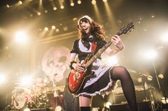 """Band-Maid presenting their new album """"just bring it"""" Rock N Roll, Japanese Girl Band, Guitar Girl, Girl Bands, Cute Little Girls, Rock Style, These Girls, Lolita Fashion, Rock Bands"""