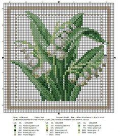 Цветочный календарь: вышиваем крестиком круглый год: публикации и мастер-классы – Ярмарка Мастеров