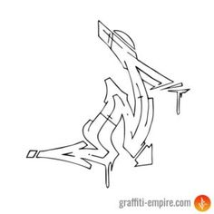 ▷ Graffiti Letter N [images] - in different styles Graffiti Letter N, Graffiti Alphabet Styles, Graffiti Lettering Alphabet, Graffiti Font, Graffiti Characters, Graffiti Styles, Graffiti Tattoo, Graffiti Drawing, Best Graffiti