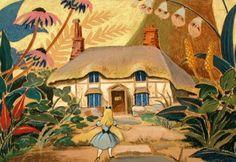 La casa de Conejo blanco