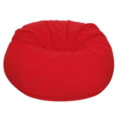 Bean Bag Chair Color: Red - http://delanico.com/bean-bag-chairs/bean-bag-chair-color-red-589049956/