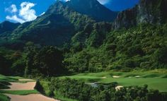 Kaneohe, Hawaii ~ Ko`olau Golf Club features winding ravines, extreme elevation changes, and breathtaking views of cascading waterfalls. Considered one of the most beautiful courses in the nation. Famous Golf Courses, Public Golf Courses, Augusta Golf, Coeur D Alene Resort, Golf Holidays, Golf Course Reviews, Golf Day, Golf Lessons, Play Golf