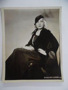 c.1930 MAE WEST Broadway Theatrical Photo G. Maillard Kesslere Vintage ORIGINAL