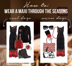 Maxi dresses aren't just for summer, you can style them for winter too. As well as being extremely comfortable and flattering, they are also versatile and transeasonal.