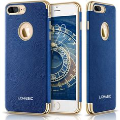 Ink Blue iPhone 7 Plus Case Slim Body Non Slip Surface Flexible TPU Hybrid Thin  | eBay