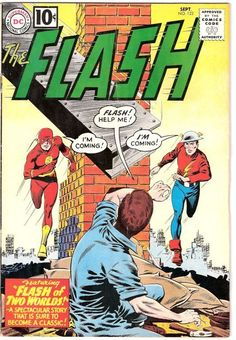 The Flash #123 - First Mention of DC's Multiverse