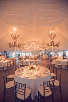 Wedding ~ what a great way to light the dancefloor in the center & the Chandeliers made of branches.  So cool!