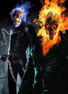 I really love Ghost Rider so I wanted to create my own interpretation of it! Ghost Rider is copyright of MARVEL Comics (www. Ghost Rider 2, Ghost Rider Johnny Blaze, Ghost Rider Marvel, Ghost Ghost, Marvel Art, Marvel Heroes, Marvel Comics, Ms Marvel, Comic Books Art