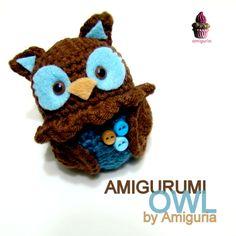 Cute amigurumi owl! ^u^