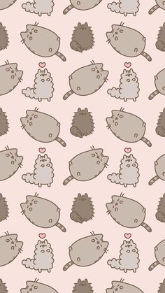 49 Ideas For Cats Wallpaper Iphone Pusheen Cute Wallpaper For Phone, Cat Wallpaper, Kawaii Wallpaper, Cute Wallpaper Backgrounds, Pattern Wallpaper, Iphone Wallpaper, Sister Wallpaper, Cat Background, Super Cat