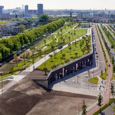 The Rotterdam Four Harbour Roof Park | Buro Sant en Co