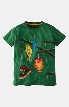 Mini Boden 'Big Appliqué' T-Shirt (Toddler, Little Boys & Big Boys) available at #Nordstrom